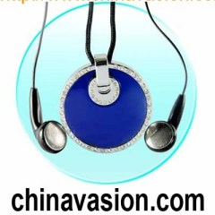 MP3 Necklace - 1GB Flash MP3 Player
