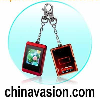 1.5 Inch Mini Photo Slideshow With Keychain