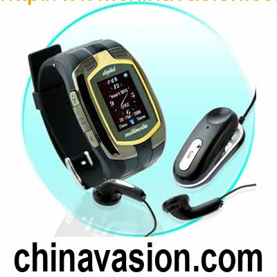 Tri-Band Cellphone Watch