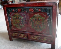 Old Mongolia cabinet