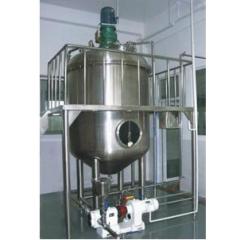 Vacuum emulsifying mixer machine