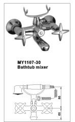 bathtub faucet repair not shown