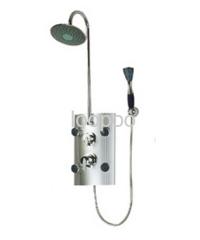 steel shower panel