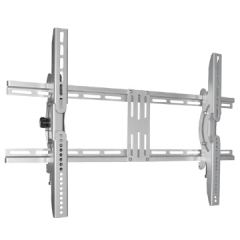 Silver and black LCD TV Brackets