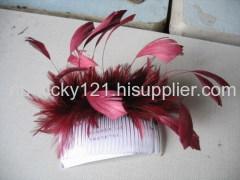 Red Fashion Fascinator