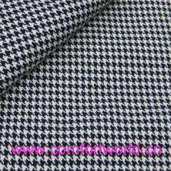 Grid Jacquard Upholstery Fabric