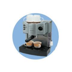 aluminum coffee maker