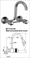 wall mounted faucet tap