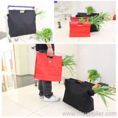 Wood Handle Shopping Bag