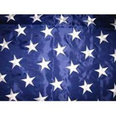 US Embroidery Flag