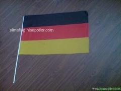 printing hand flag