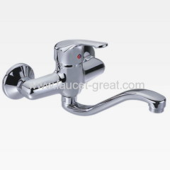 Faucets Kitchen in S spout
