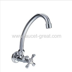 wall mounted single cold faucets
