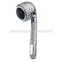 Shower head with chrome plated