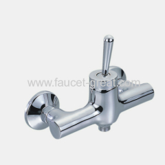 Single lever shower mixer faucet
