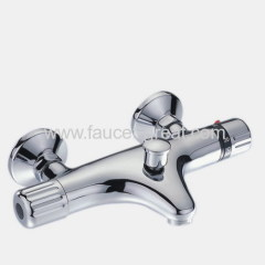 Traditional thermostatic external bath mixers