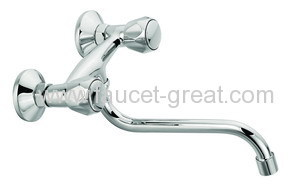 Two Handle Kitchen Faucet