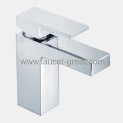 luxury square Basin Faucet