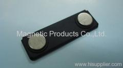 Magnetic Name Tag Holder