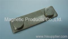 Name Badge Magnetic Fastener