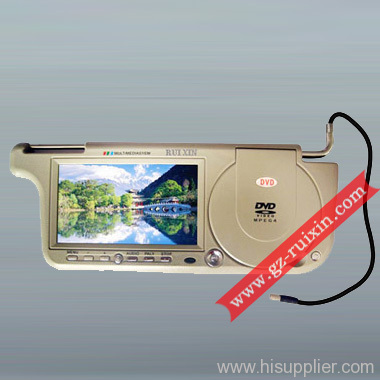 Car Sun Visor DVD