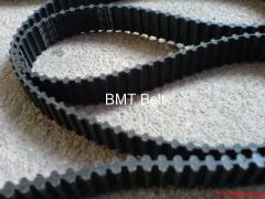 Synchronous rubber belts