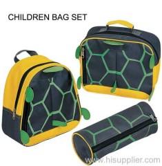 Turtle kids bag set
