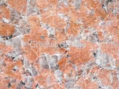red tiger skin granite