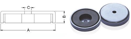 ceramic cup magnets