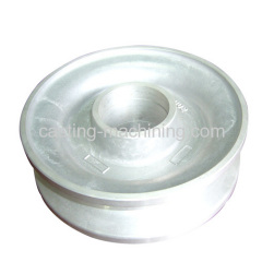 custom aluminum machining small roller bearing wheels