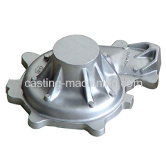 custom aluminium casting spare parts of motorcycles