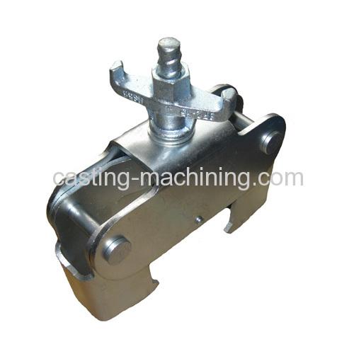 zinc coating stamping aluminum parts