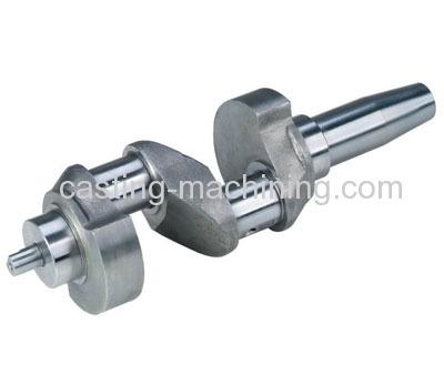 carbon steel forged crankshaft