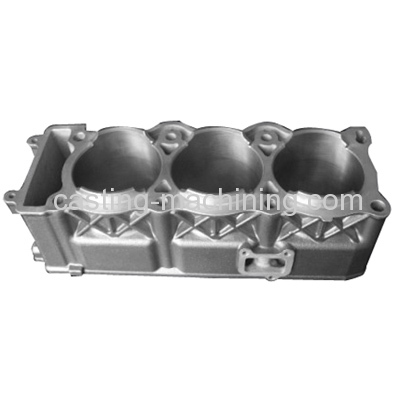 aluminum alloy engine cylinder block machining
