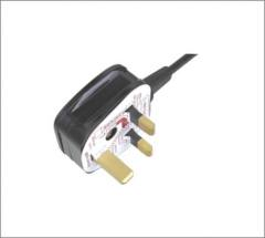 UK Power cord with screw