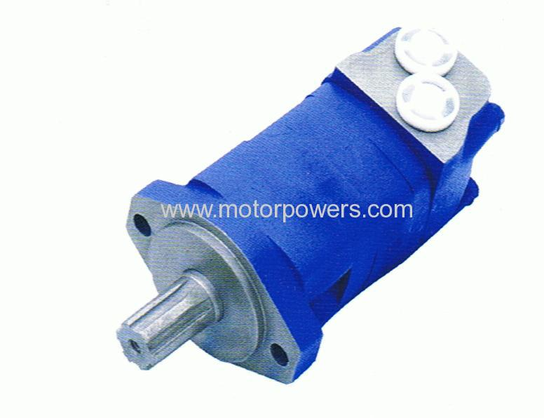 OMS orbit motor with axial distributor