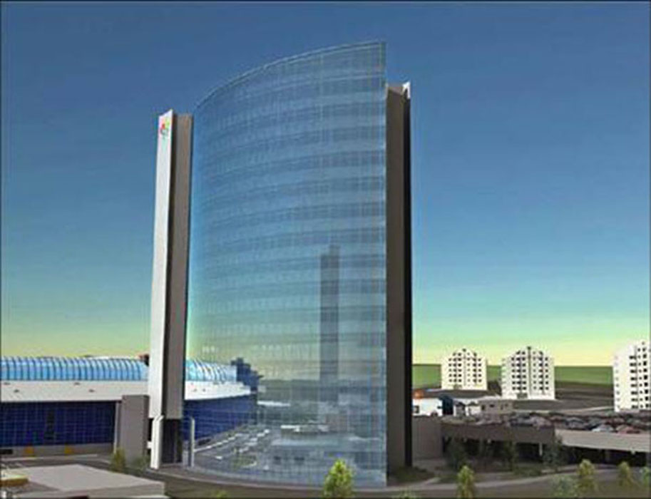 Stick Curtain Wall System Manufacturer From China Sanxin