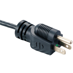 Power supply cord with UL