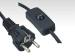Schuko Power Cord with switch