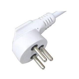 Israel plug with VDE cable