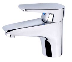 Basin Faucet With Flat Handle Lever