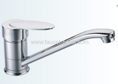 deck -mounted kitchen faucet