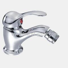 Single Lever Bidet Faucet In Bathroom