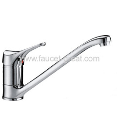 Single Lever Kitchen Mixer In H58 Brass Quality