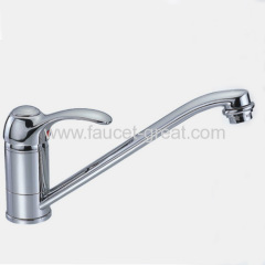 Deck -Mounted Kitchen Faucet And Mixer