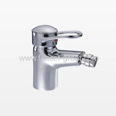 Single hole bidet mixer