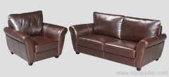 Hotel Leather Sofa Set