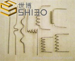 Tungsten screw coil