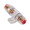 4 / 8 GA AGU In-Line Car Fuses Holder | gold