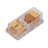 2 gang AGU Fuse power distribution block | Gold